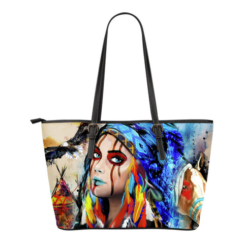 Native American Woman Tote