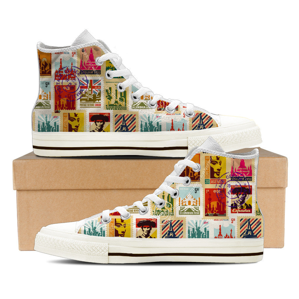 Stamp Collector Shoe