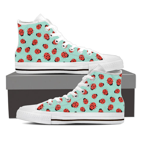 Lady Bug Pattern Shoes