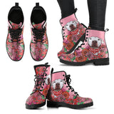 Illustrated Pit Bull Boots