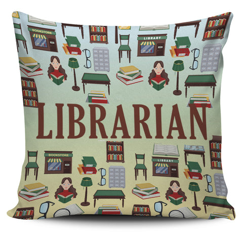 Librarian Pillow Cover