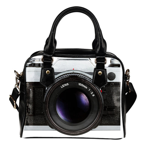Vintage Camera Shoulder Handbags-Clearance