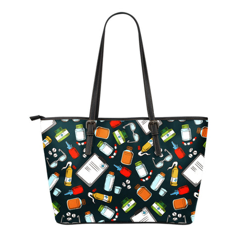 Pharmacist Pattern Tote Bag