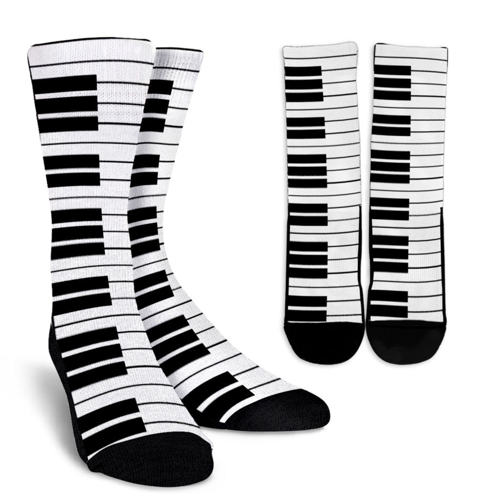 Piano Socks Custom Designed Socks From Groove Bags