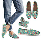 Pug Flower Casual Shoes-Clearance