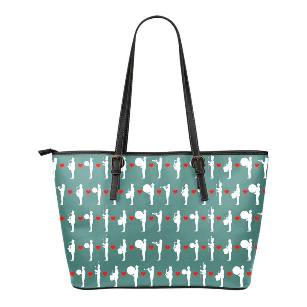 Marching Band Pattern Tote Bag