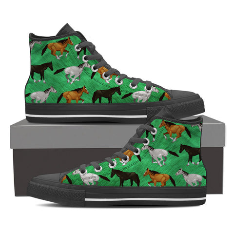 Horse Lovers Pattern Shoes