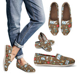 Medical Pattern Casual Shoes