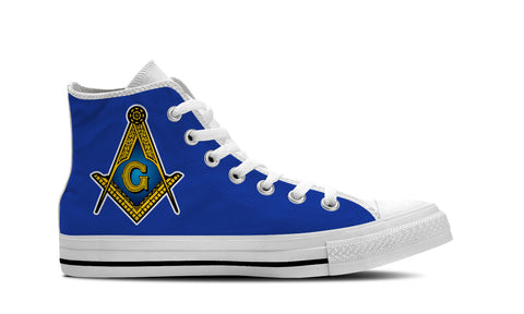 Freemason Mens White Sole