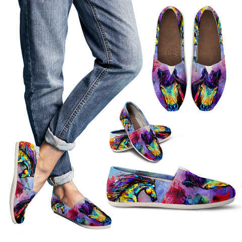 Artistic Horse Casual Shoes