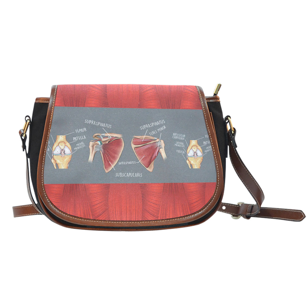Physical Therapy Saddle Bag