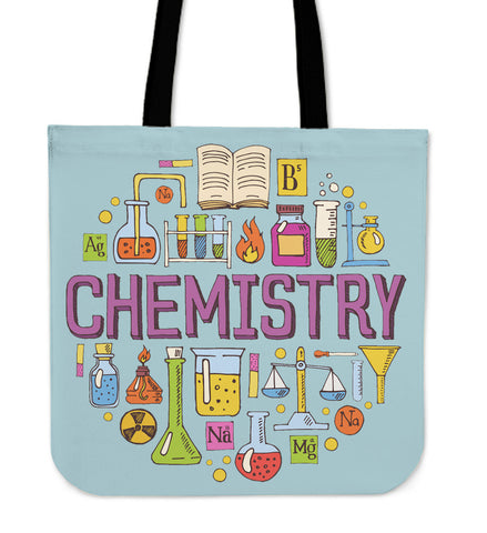 Chemistry Lovers Linen Tote Bag