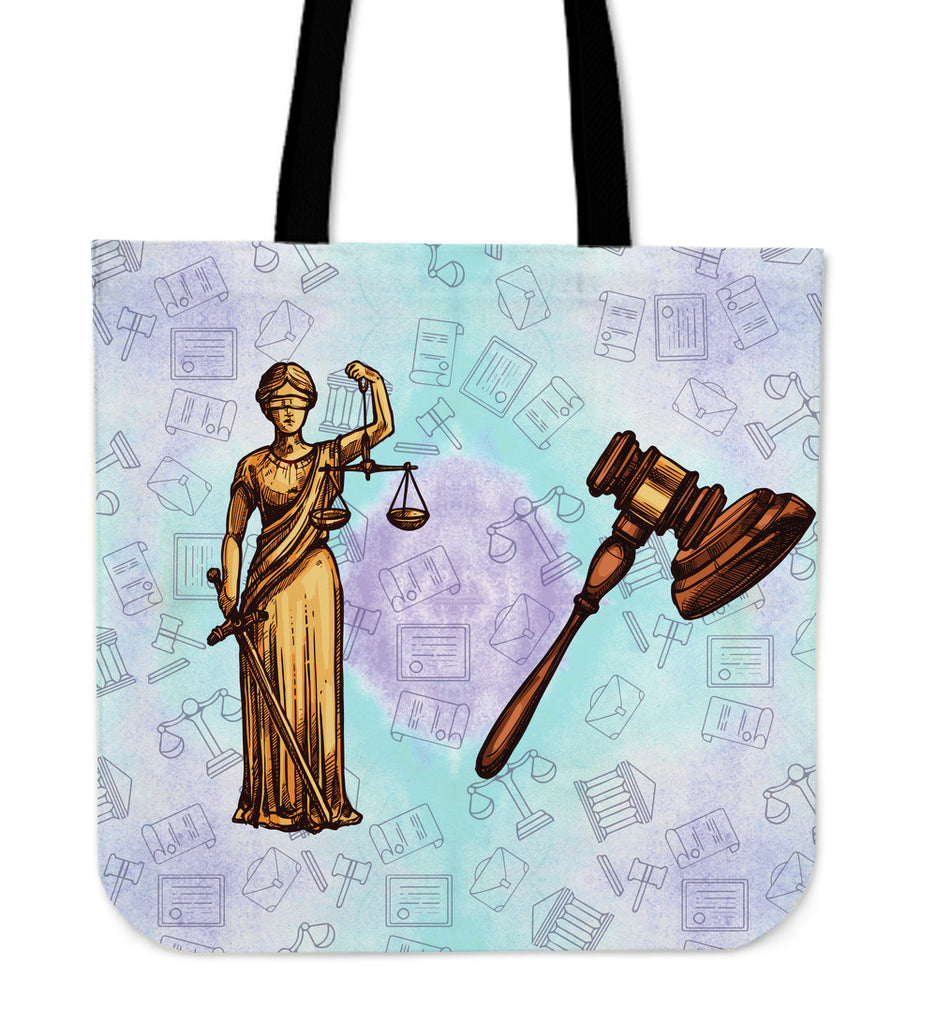 Law Professional Linen Tote Bag