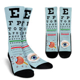 Optometrist Eye Socks