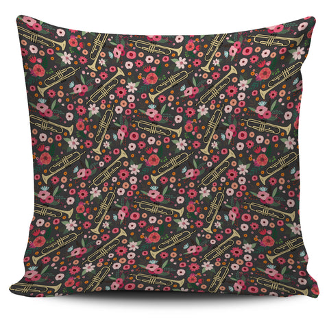 Trumpet Flower Pillow Cover