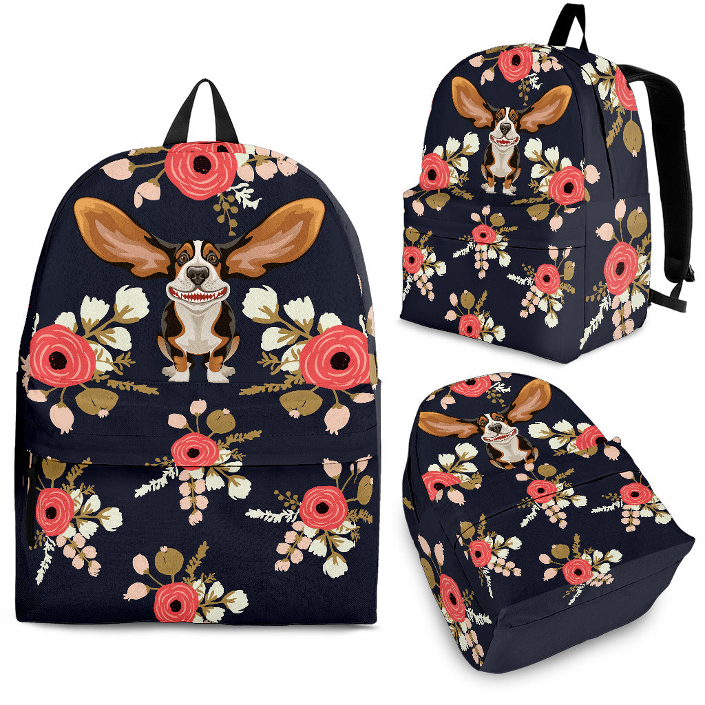 Floral Hound Backpack