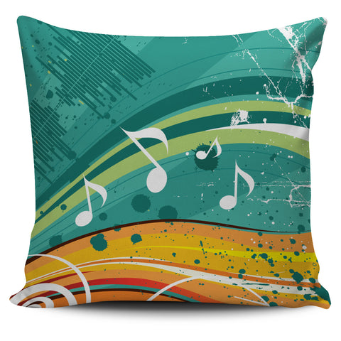 Funky Music Pillow Cover