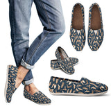 Bone Pattern Casual Shoes