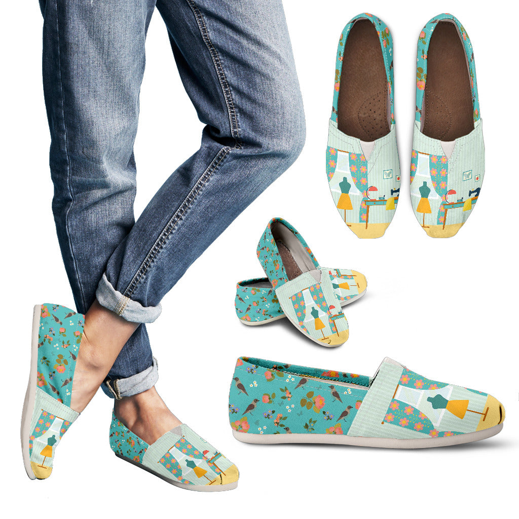 Adorable Sewing Nook Casual Shoes