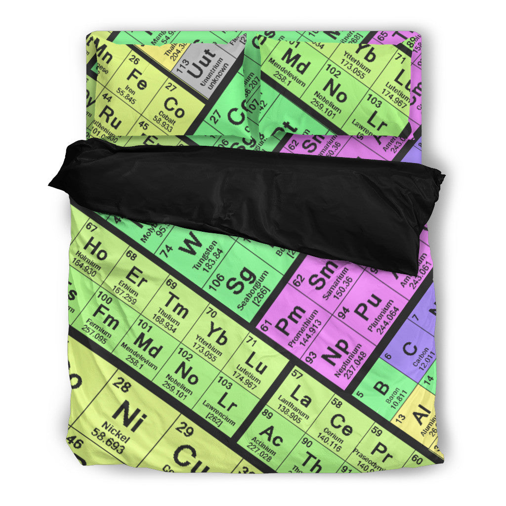 Periodic table bedding set groove bags periodic table bedding set urtaz Gallery