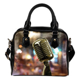 Singers Microphone Shoulder Handbag