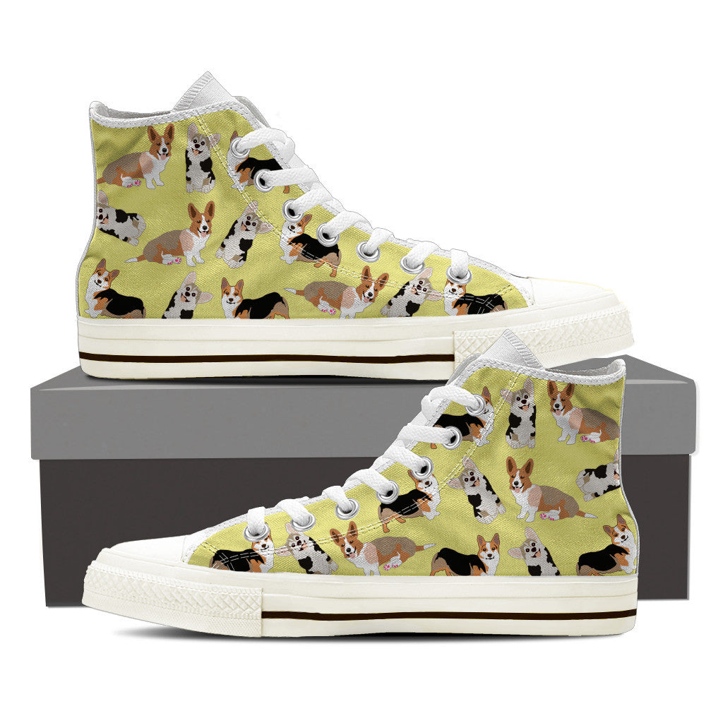 Corgi Pattern Shoes