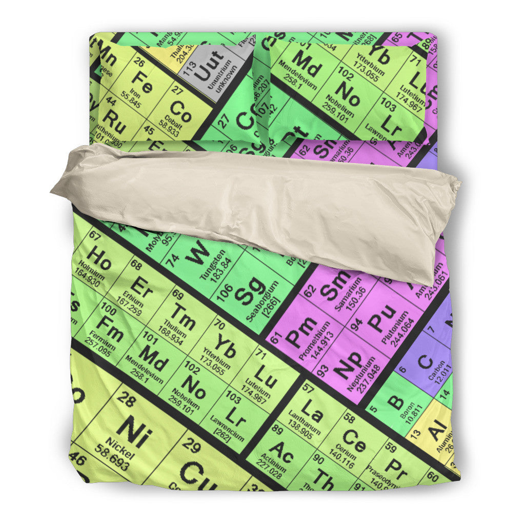 Periodic table bedding set groove bags periodic table bedding set periodic table bedding set urtaz Gallery