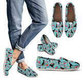 Doberman Flower Casual Shoes-Clearance