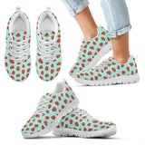 Kids Lady Bug Pattern Sneakers