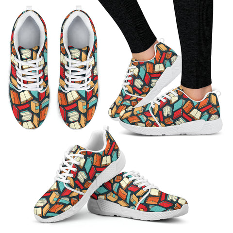 Book Lovers Athletic Sneakers
