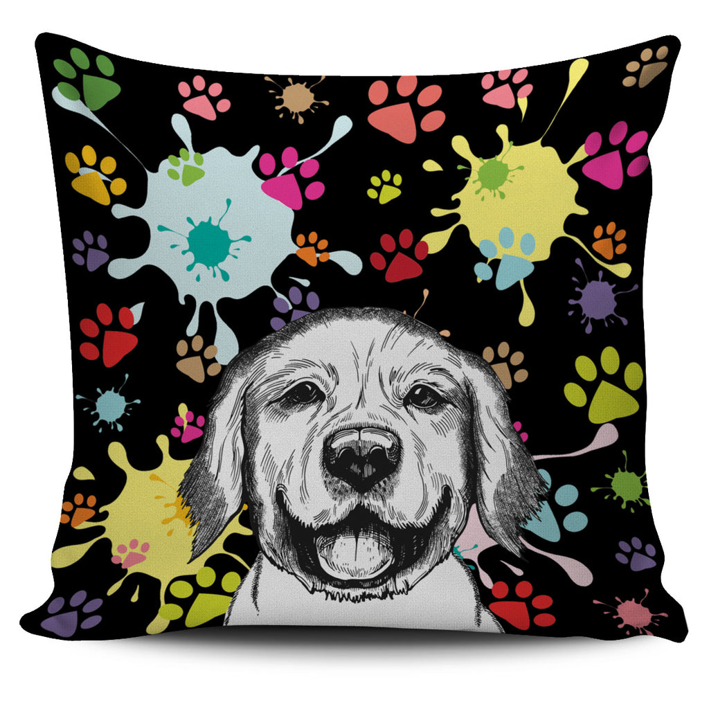 Artsy Labrador Pillow Cover