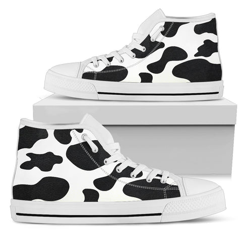 Cow Print High Top-Clearance
