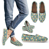 Golden Retriever Flower Casual Shoes