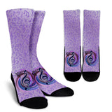 Magical Music Notes Socks
