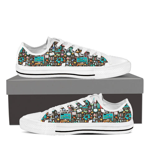 Science Pattern Low Top-Clearance