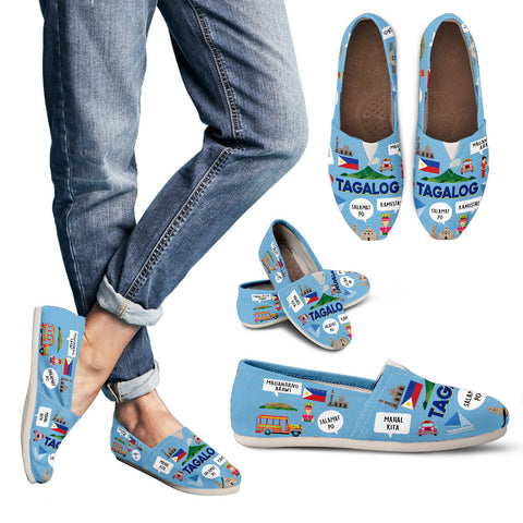 Tagalog Language Casual Shoes