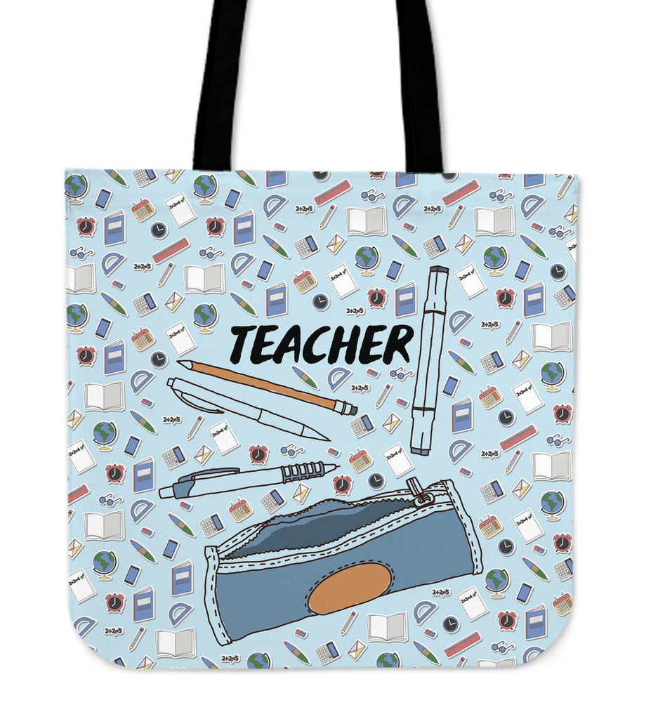 Teaching Education Linen Tote Bag