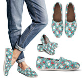 Westie Flower Casual Shoes