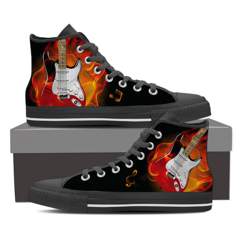 Guitar Fire Shoes