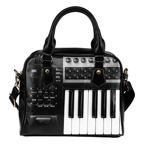 Keyboard Shoulder Handbags