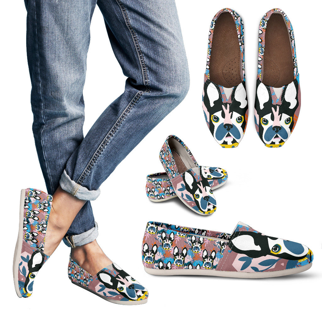 Abstract Pup Casual Shoes