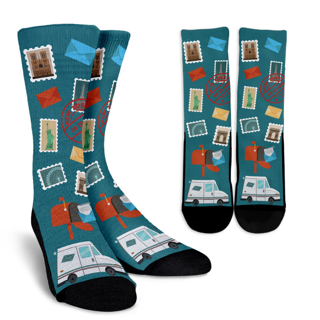 Postal Worker Socks