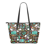 Science Pattern Tote Bag