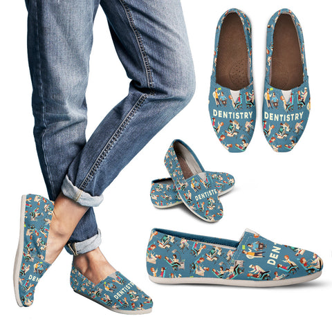 Dentistry Pattern Casual Shoes-Clearance