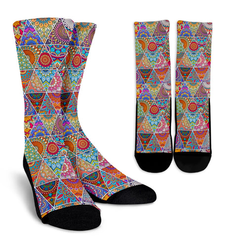 Bohemian Pattern Socks