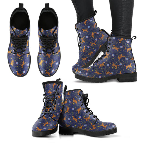 Space Golden Retriever Boots