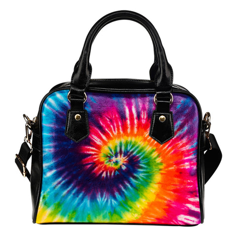 Tie Dye Shoulder Handbag
