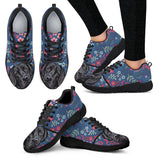 Black Lab Sweetheart Athletic Sneakers