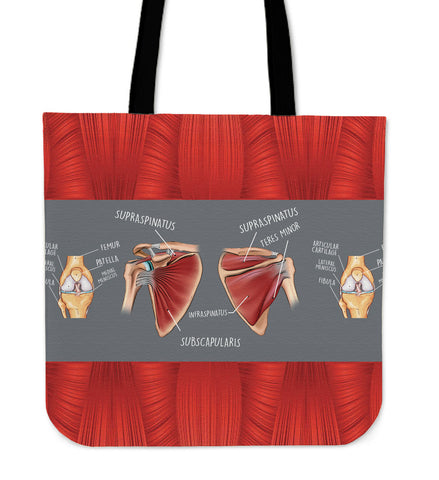 Physical Therapy Linen Tote