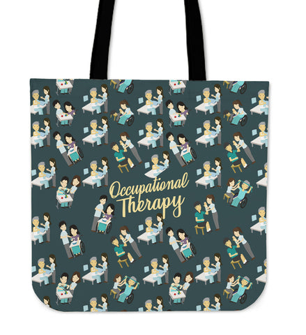 Occupational Therapy Linen Tote Bag